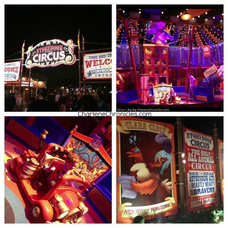 New Fantasyland Storybook Circus