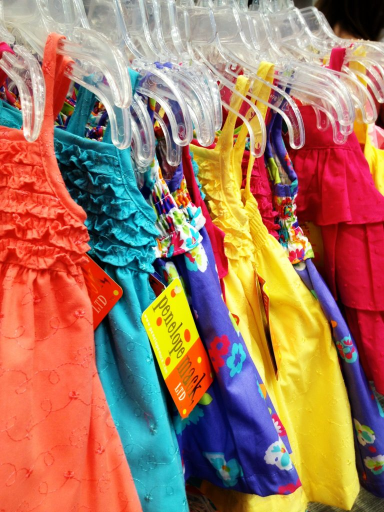 Kid Clothes at the Nordstrom Rack Boston