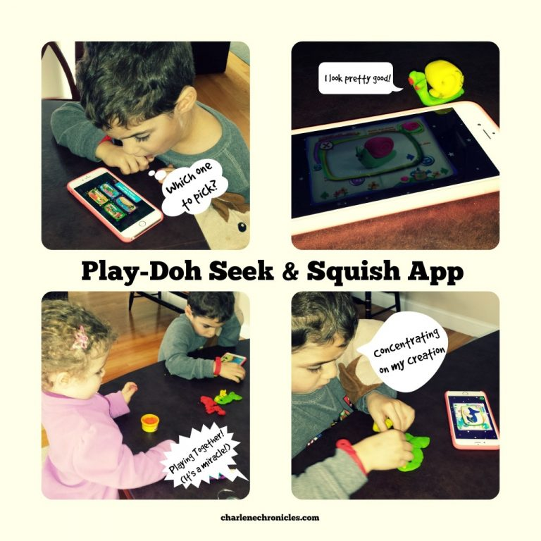Play Doh Seek and Squish App