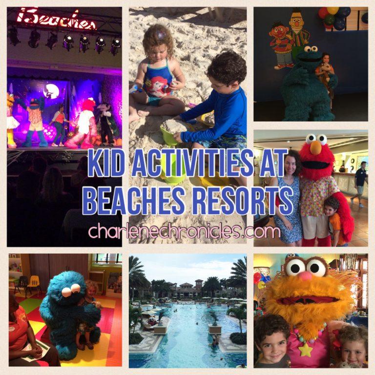 Beaches Resorts Sesame Street Camp