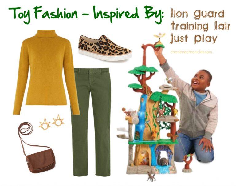 Toy Fashion: Lion Guard Training Lair