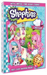 First Ever Shopkins DVD: Chef Club Movie