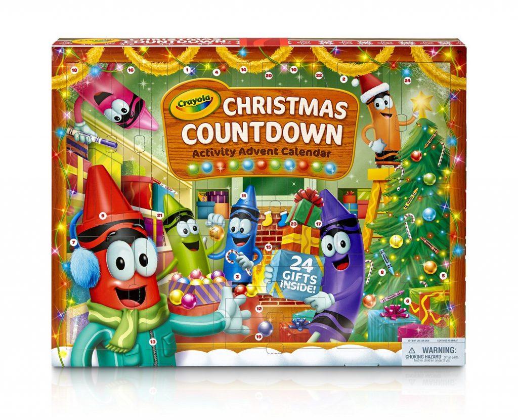 advent calendar crayola kids
