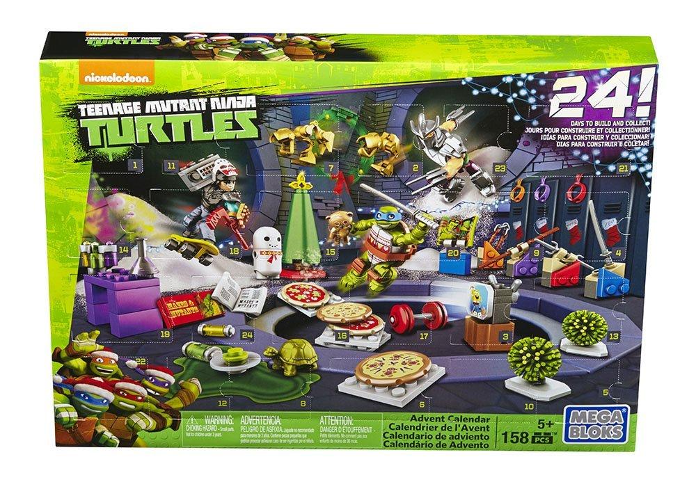 mega bloks turtle advent calendar