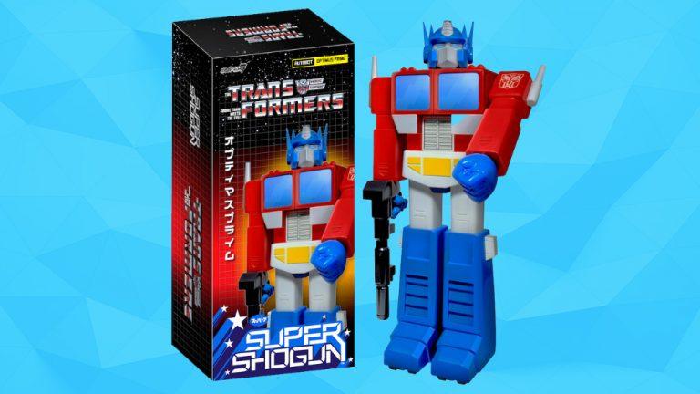 The Super Shogun TRANSFORMERS Optimus Prime!