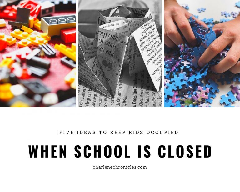 Five Ideas to Keep Kids Occupied During the Pandemic