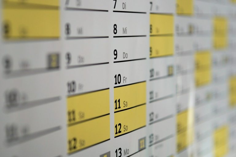 Homeschool Calendars – Printable Schedules