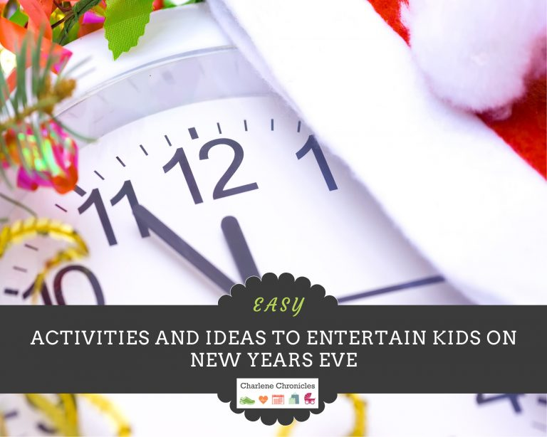 Here Are Easy Activities to Celebrate and Entertain Kids on New Years' Eve Day!
