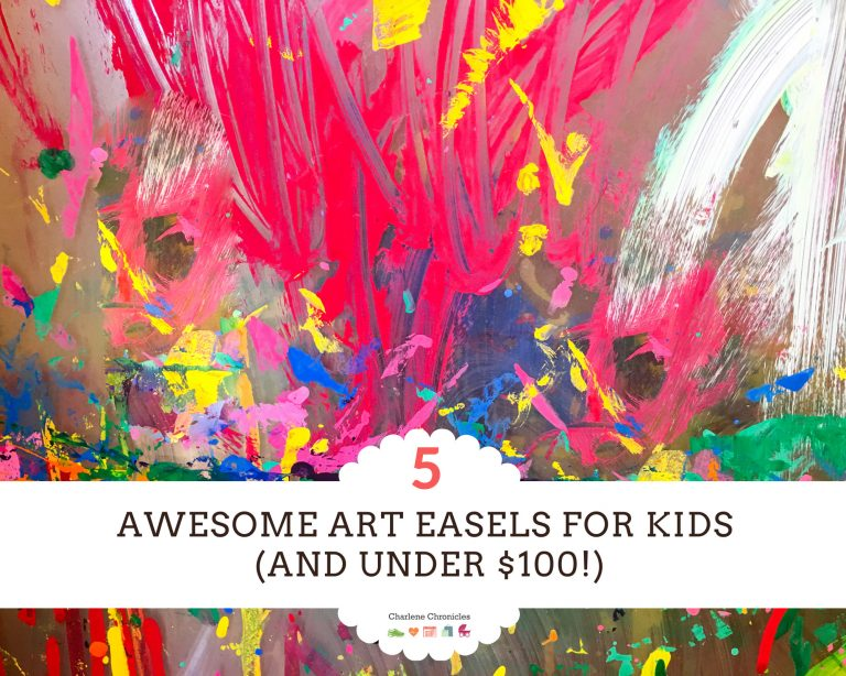 The Five Best Art Easels for Kids Under $100