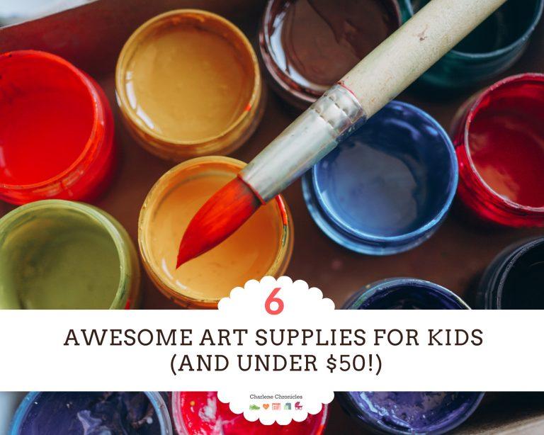 The Six Best Art Supplies for Kids Under $50
