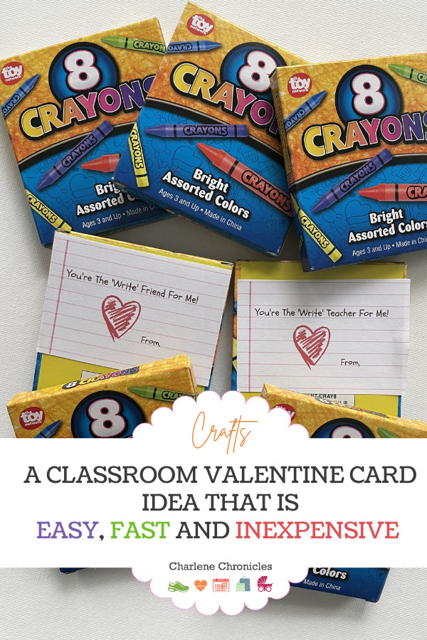 crayon card classroom